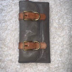 Fossil Grey wallet - VRI Vintage Reissue (Grey)